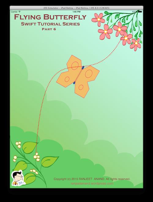 Flying Butterfly – Swift Tutorial Series – Making Butterfly